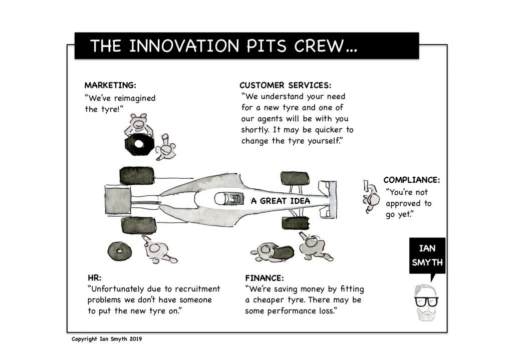 The Innovation Pits Crew
